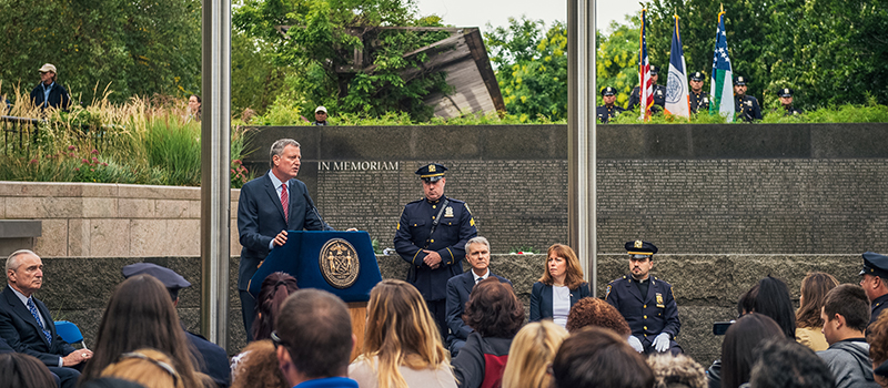 NYC Police Memorial