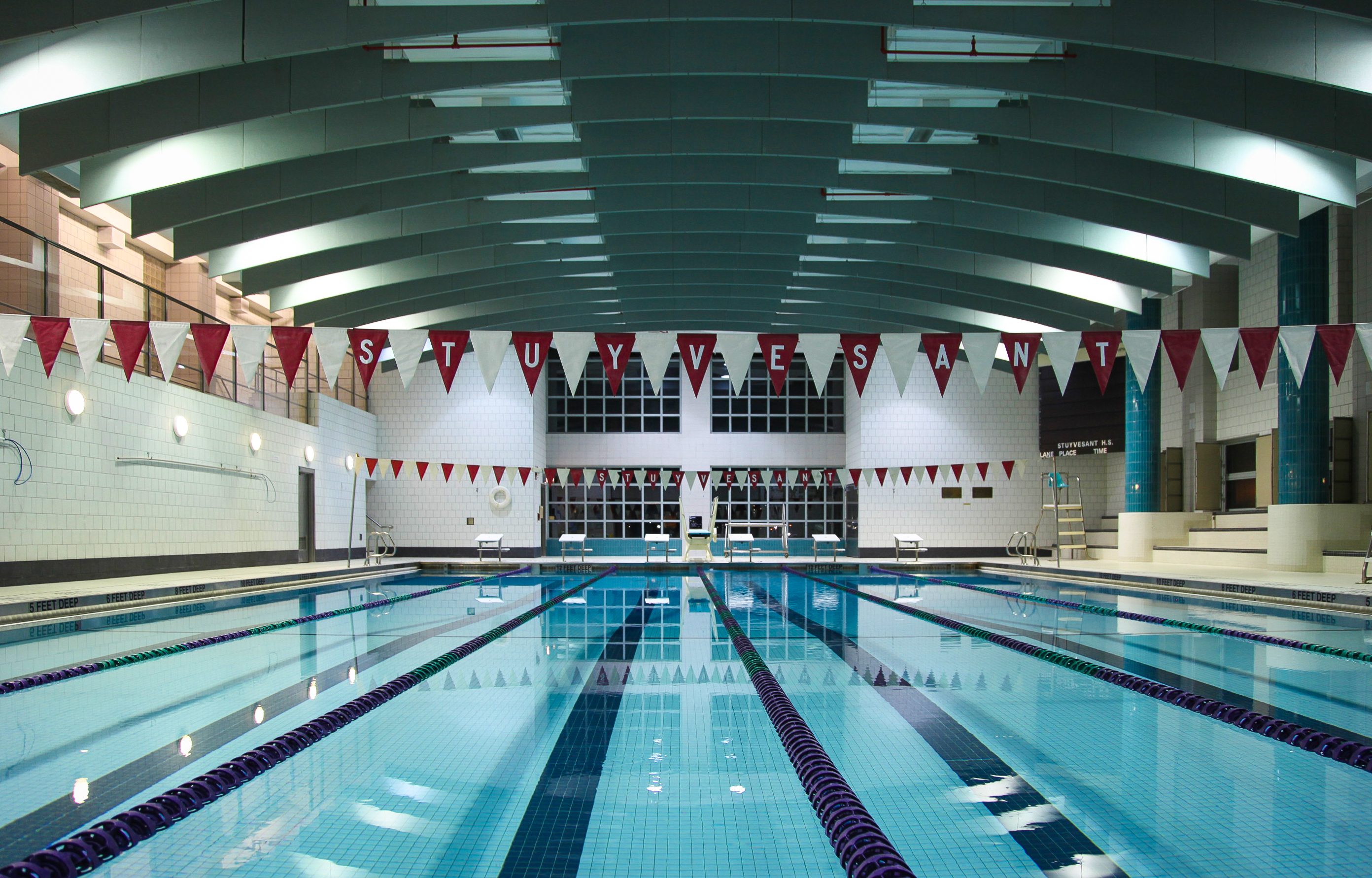 Bpca announces reduced pricing for community center at stuyvesant high school battery park for Stuyvesant high school swimming pool