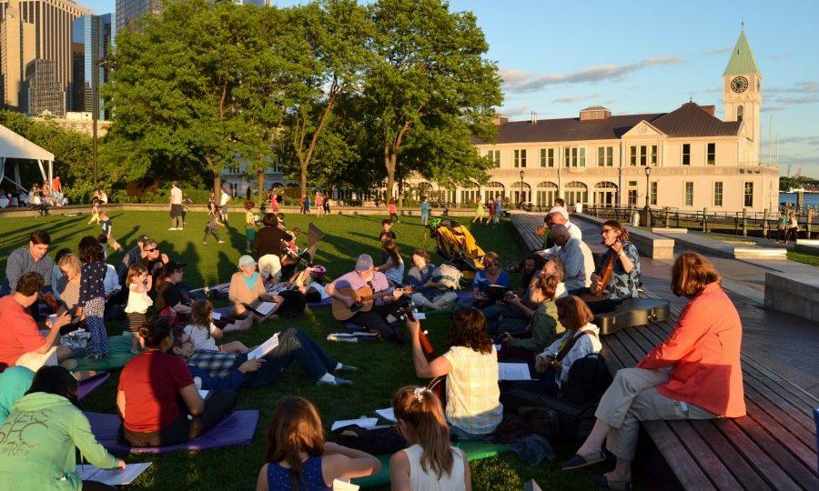 BPCA Sunset Singing Circle